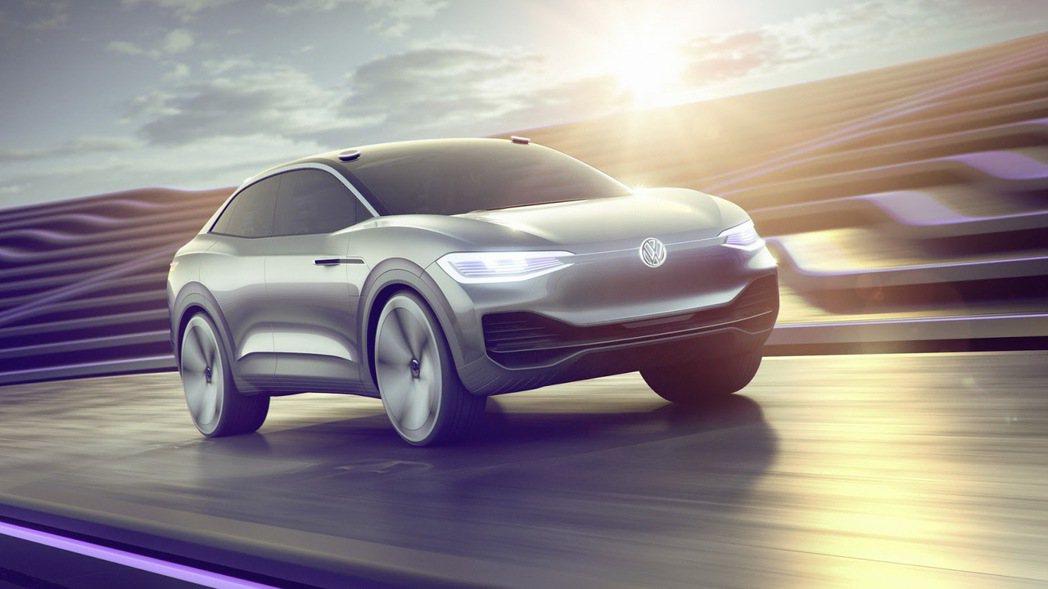 圖為Volkswagen I.D. Crozz Concept。 摘自Volks...