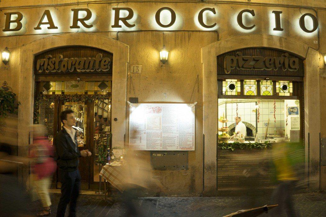 調查報告指出,全義大利至少有5000家餐廳都在黑手黨的掌握中。圖為羅馬的知名餐廳...