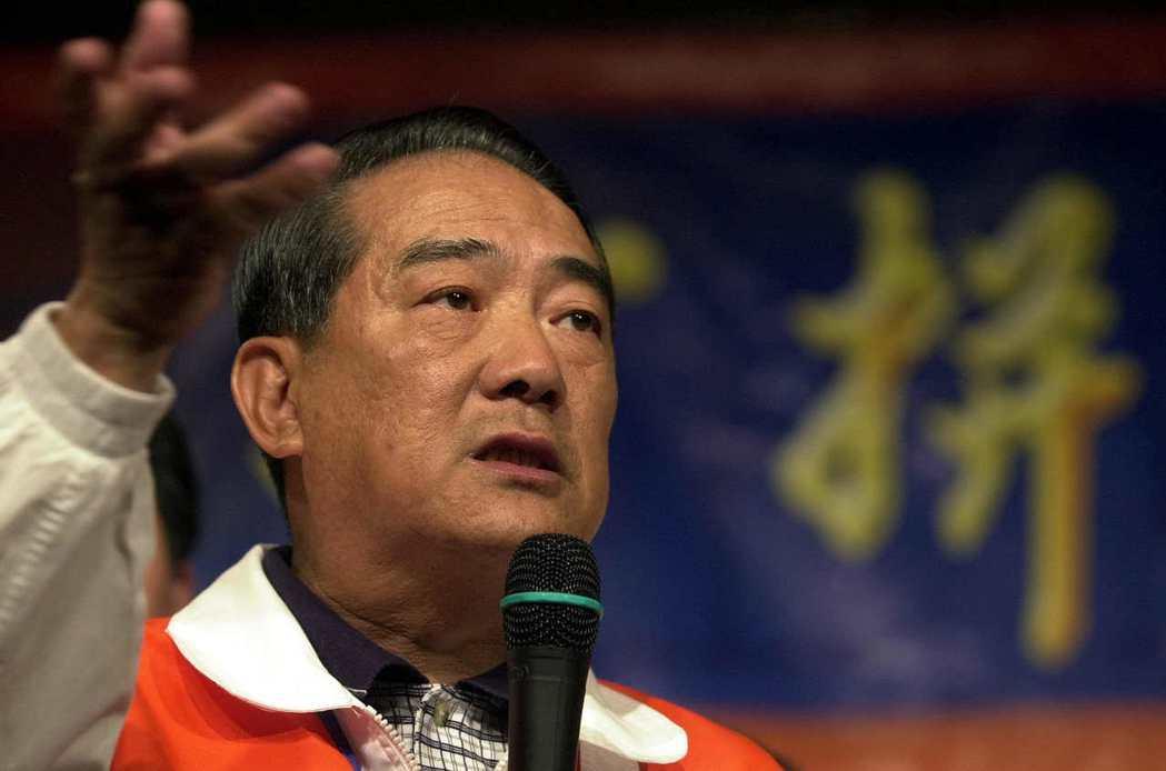宋楚瑜組成親民黨至今仍未卸任,以17年的主席資歷,穩坐第二長壽黨主席之位。 圖/...