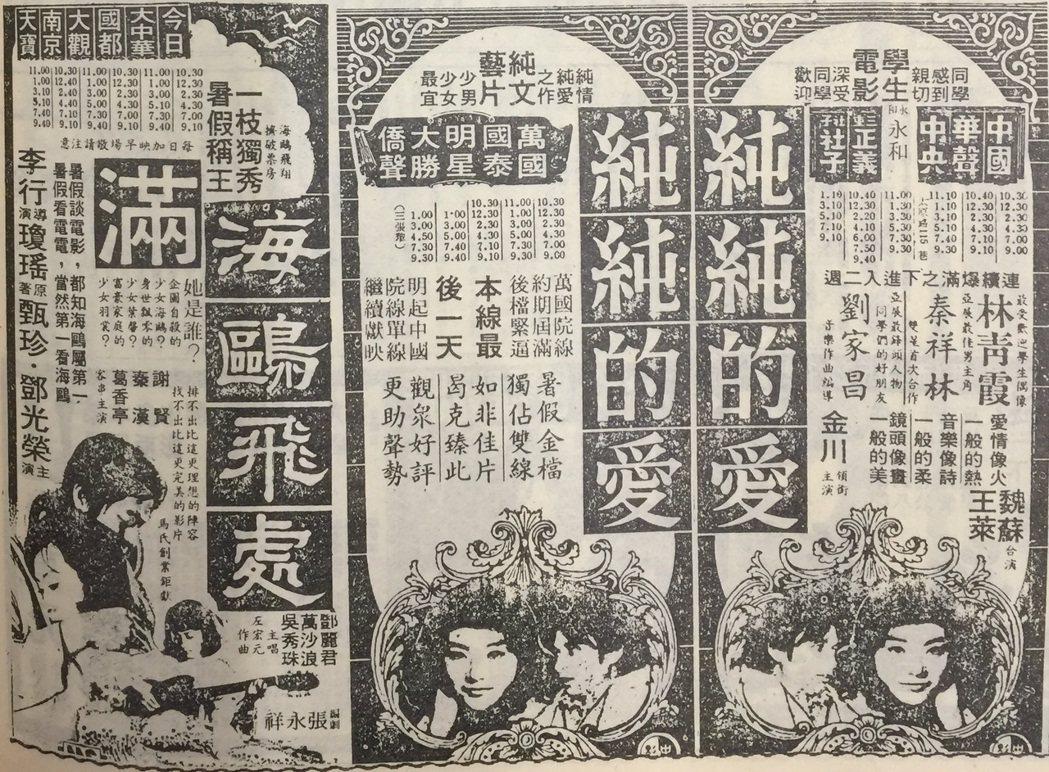 圖/翻攝自民國63年自立晚報