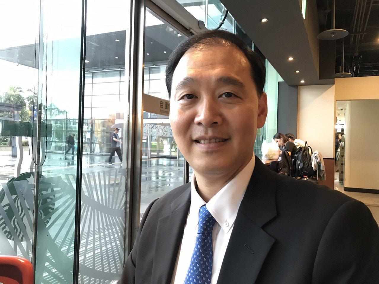 中信金融管理學院校長施光訓。記者馮靖惠/攝影