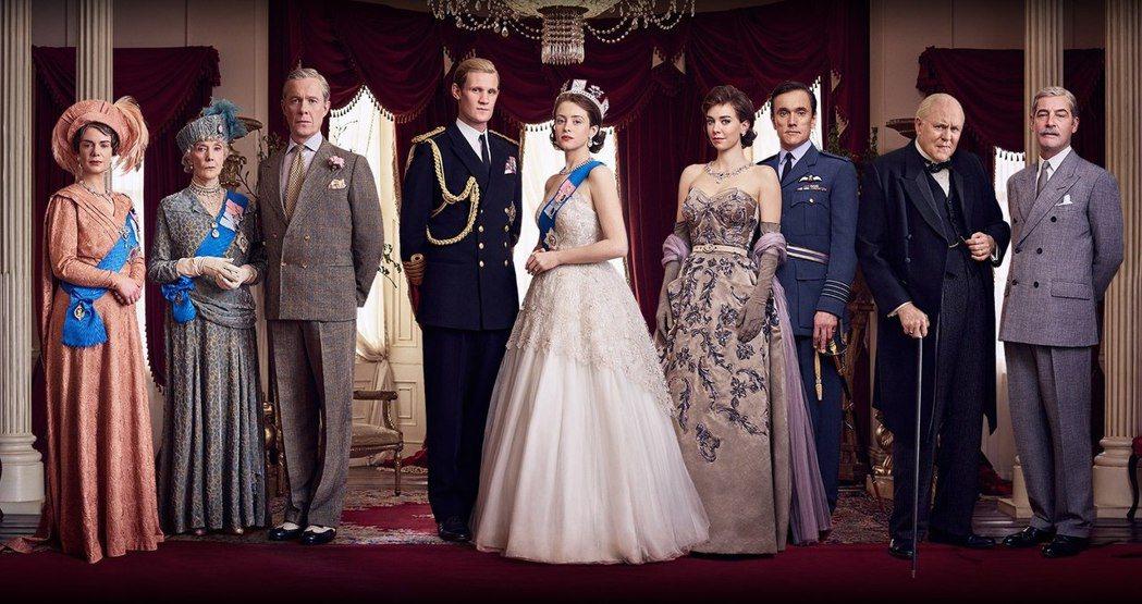 Netflix史詩大戲「王冠」,是角逐艾美獎的大熱門。圖/摘自imdb