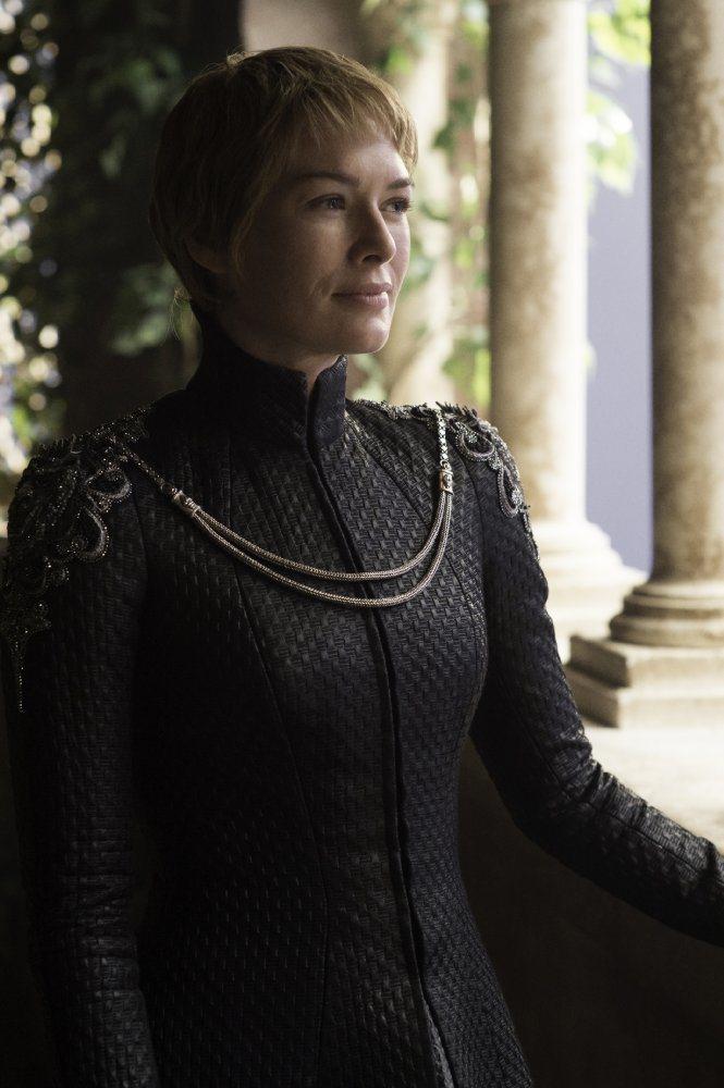 蓮娜海蒂飾演的瑟曦,在第七季中將更為瘋狂、狠毒。圖/HBO提供