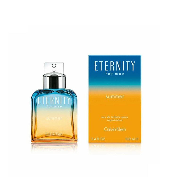 永恆夏日男性淡香水2017限量版,售價2,850元。圖/盧亞提供