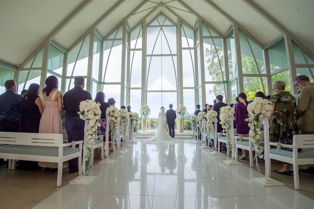 在教堂舉辦婚禮蔚為風潮。 讀者/提供