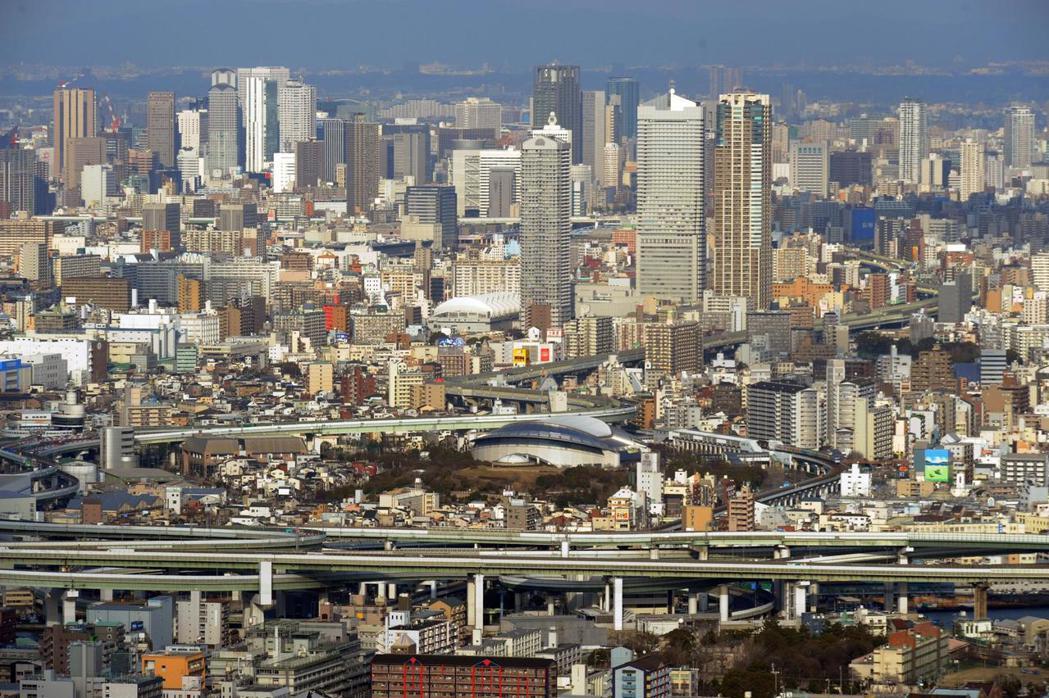 大阪是國人下半年度最熱門旅遊城市。 歐新社