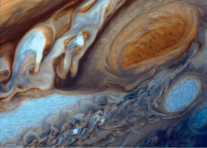 美國國家航空暨太空總署(NASA)11日表示,NASA朱諾號(Juno)太空船已...