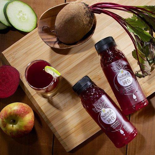甜菜根綜合果汁即日起至7月16日只要76元,想要好氣色不容錯過。圖由廠商提供。