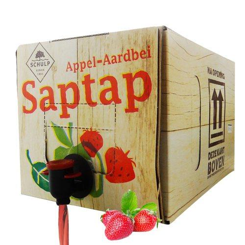 荷蘭原裝 SCHULP鮮榨蘋果草莓原汁即日起至7月17日止,1箱(5,000ml...