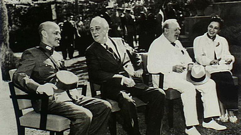 開羅宣言歷史圖片。 圖/摘自網路