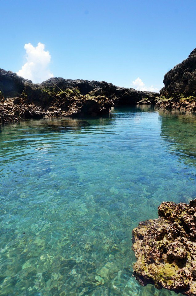 朗島秘境有比東清秘境還漂亮的美稱。(林郁姍/攝)