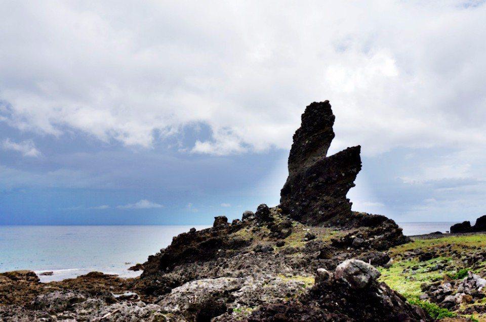 鱷魚岩。(林郁姍/攝)