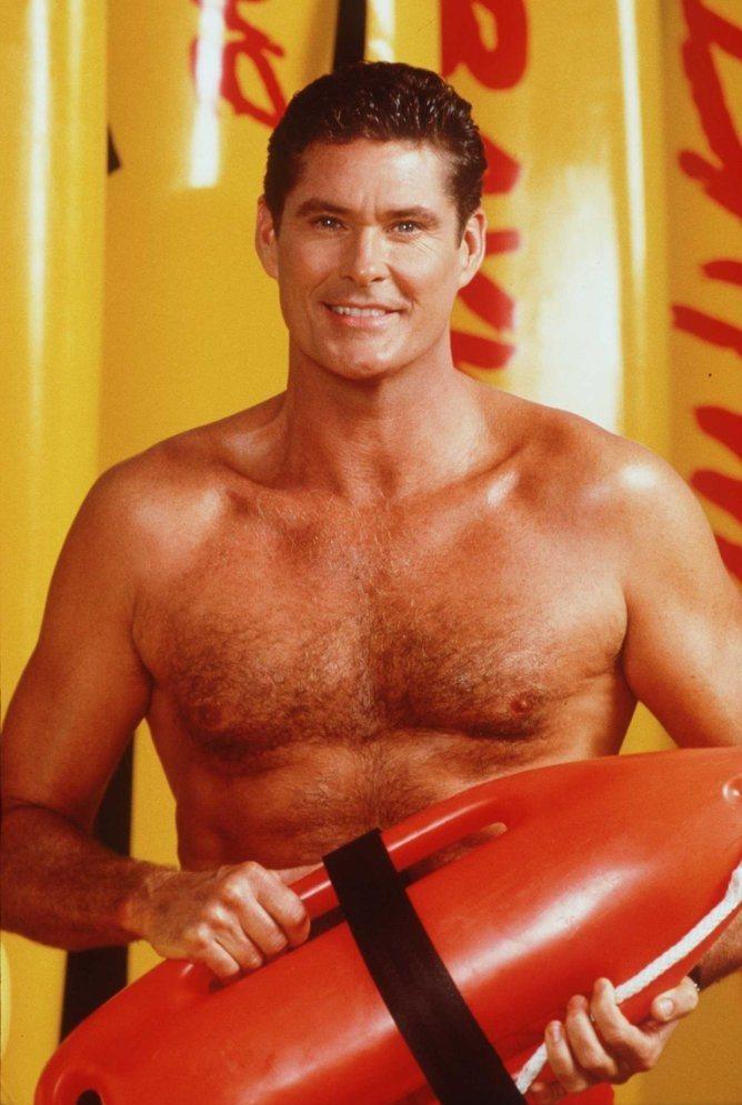 大衛霍賽荷夫是「海灘救護隊」在德國狂賣的最大功臣。圖/摘自imdb