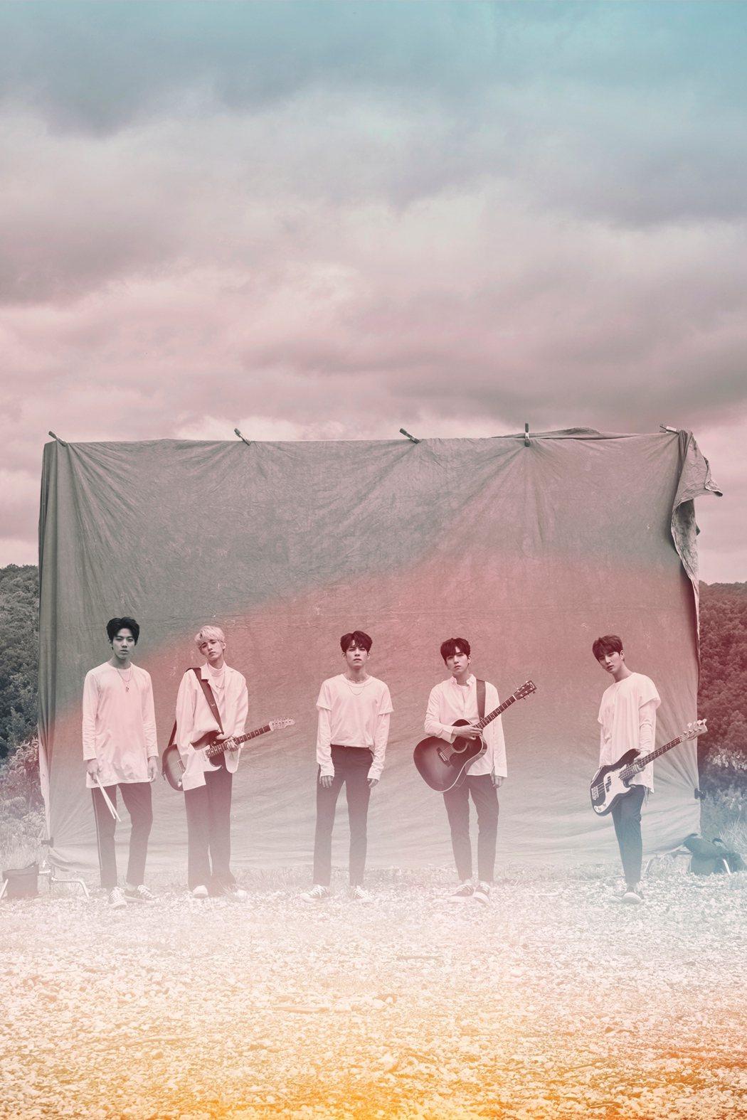 韓樂團Day6將於7月21日來台演出。圖/環球唱片提供