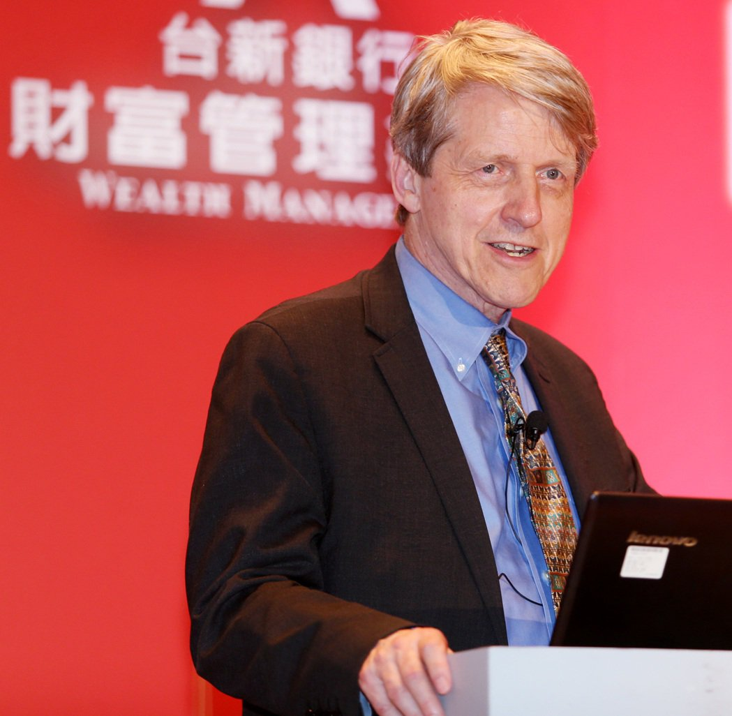 諾貝爾經濟學獎得主、美國耶魯大學教授羅伯席勒(Robert Shiller)說,...
