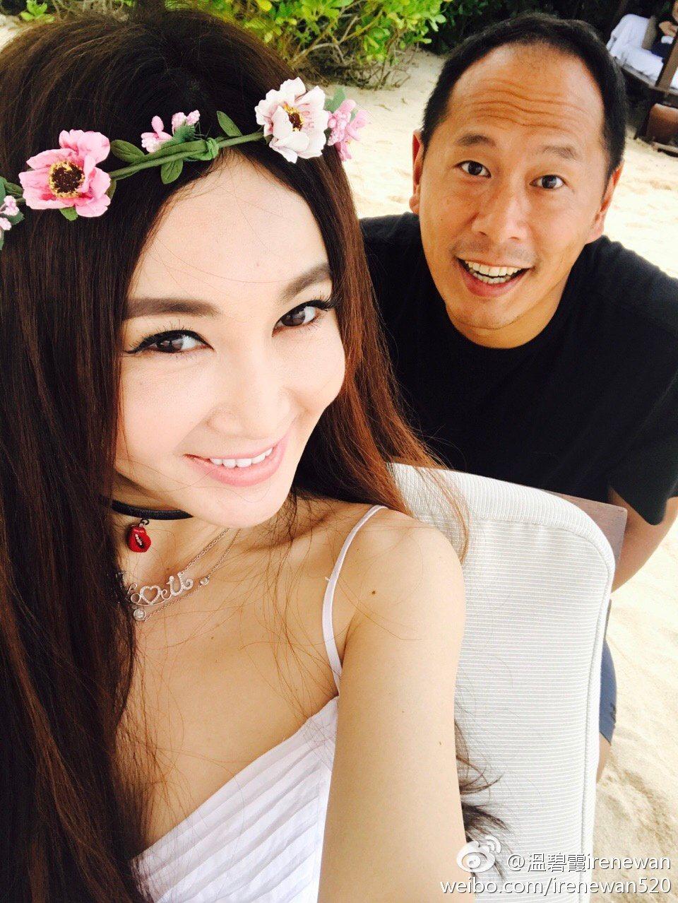 溫碧霞與何祖光常公開曬恩愛,卻被傳已分居4個月。圖/摘自微博