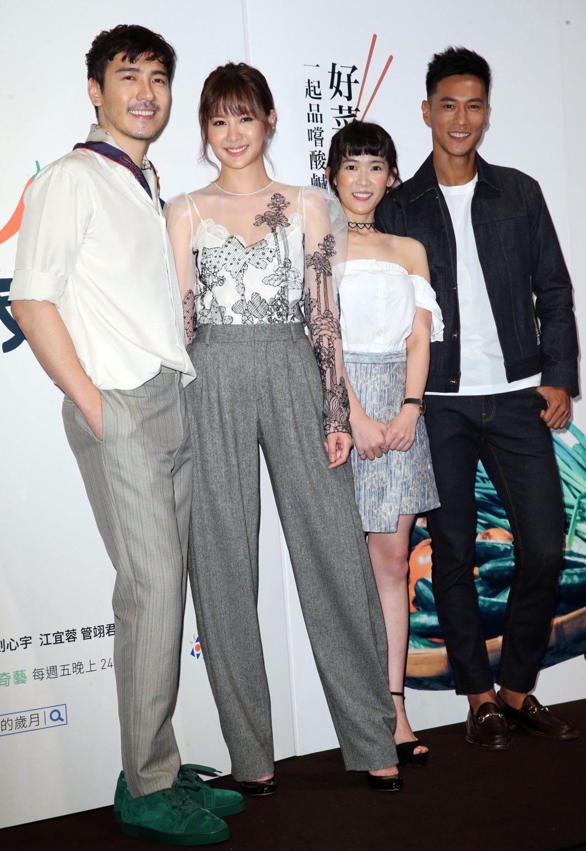 敘述台灣烹飪教育家傅培梅充滿故事性一生的戲劇「五味八珍的歲月」今天登場,劇中主要...