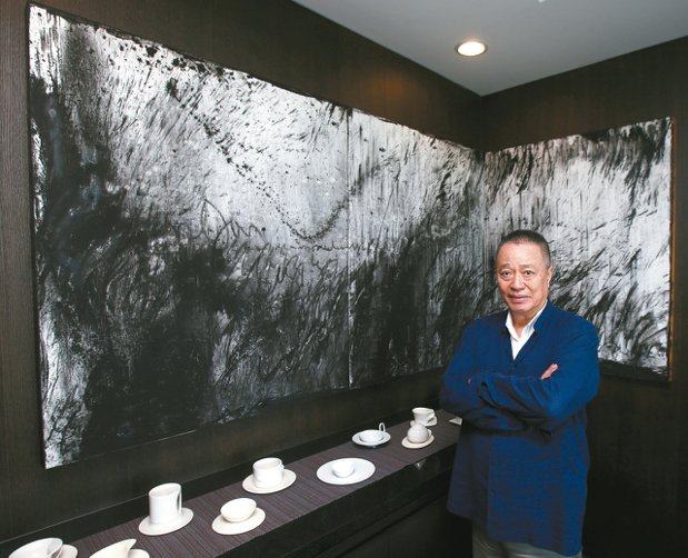 甲桂林建設董事長張裕能。 記者蘇健忠/攝影