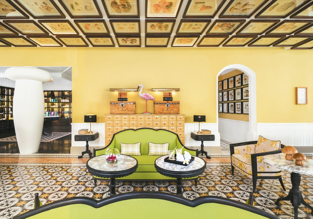 Bill Bensley最新設計的飯店位於越南富國島,充滿了學院風。 圖/BEN...