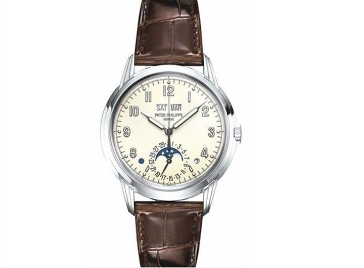 5320G新款萬年曆腕表售價:215萬9,000元。 圖/各品牌提供
