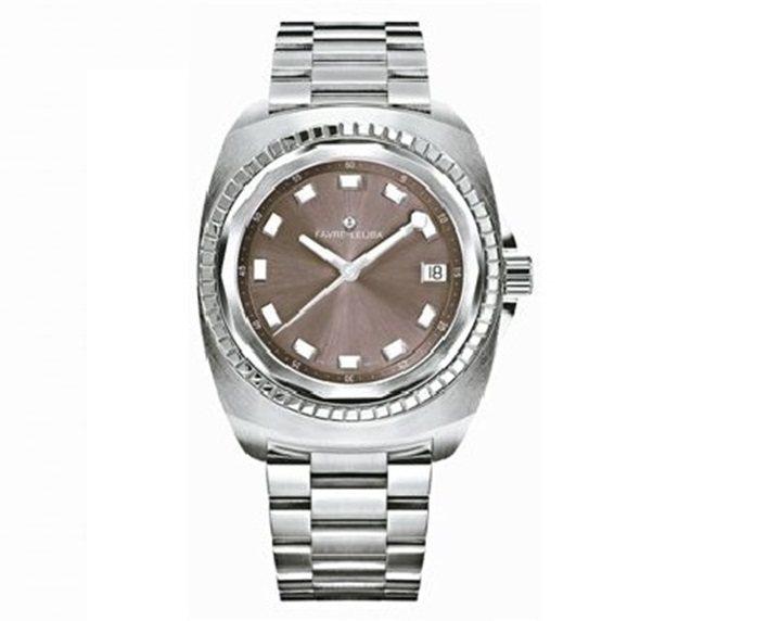 域峰Sea Bird系列自動上鍊腕表,14邊形的獨特表圈,約55,000元。 圖...