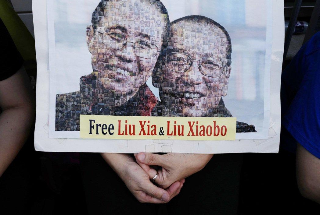 一生追求中國民主的諾貝爾和平獎得主劉曉波今天不敵病魔,病逝瀋陽。圖/美聯社