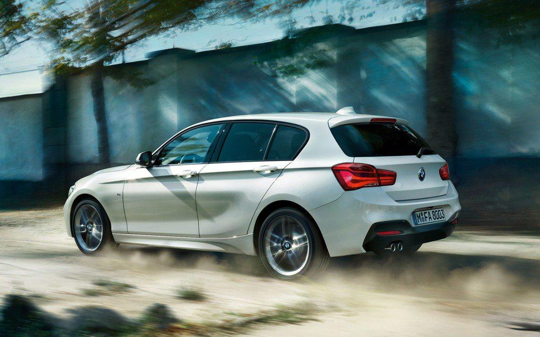 BMW 1-Series在今年上半年的成長率為6.5%。 摘自BMW