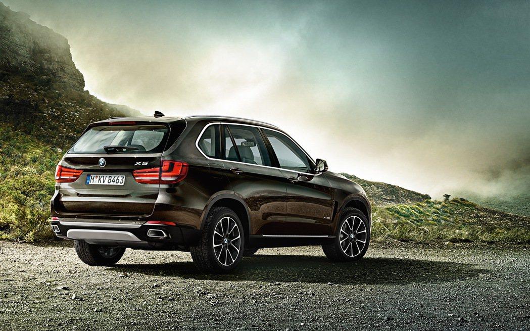 BMW X5在今年上半年的成長率為10.6%。 摘自BMW
