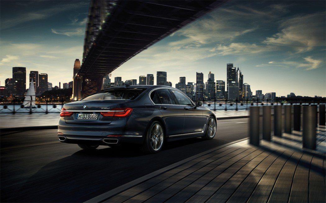 BMW 7-Series在今年上半年的成長率為26.9%。 摘自BMW