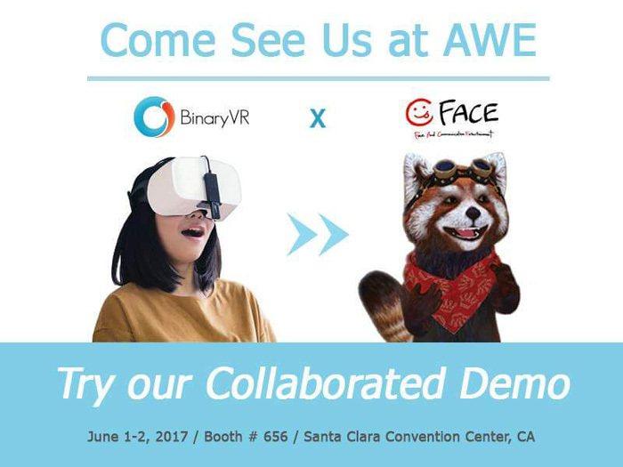 圖六、Binary VR利用鏡頭、紅外線以及3D感測器,讓VR擁有臉部表情辨識功...