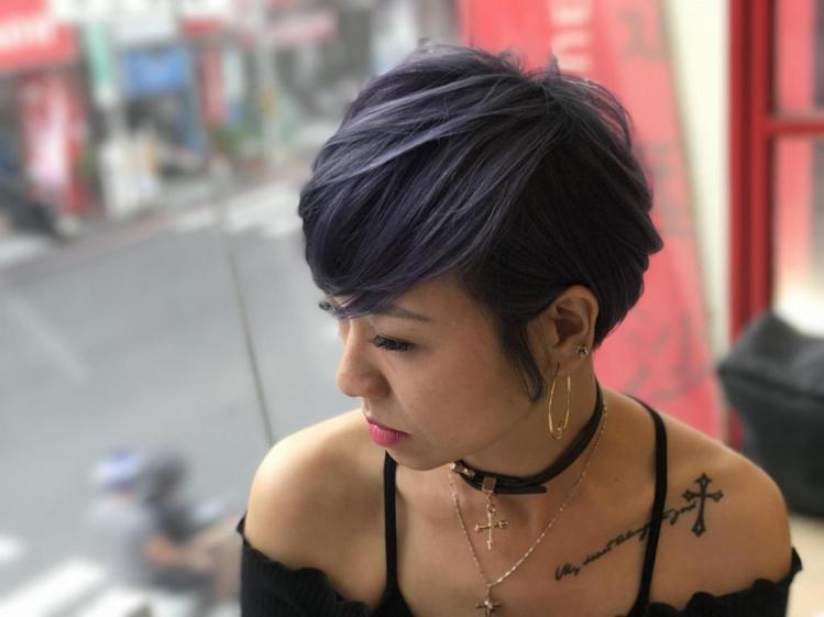 髮型創作/E3 Hair Salon 民族店 - 緯震(Eric) 。圖/Hai...