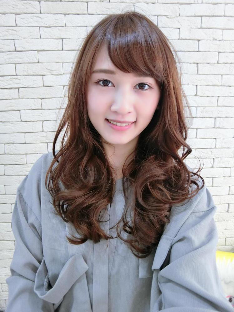 髮型創作/MV HAIR - Mi Lu。圖/HairMap美髮地圖提供