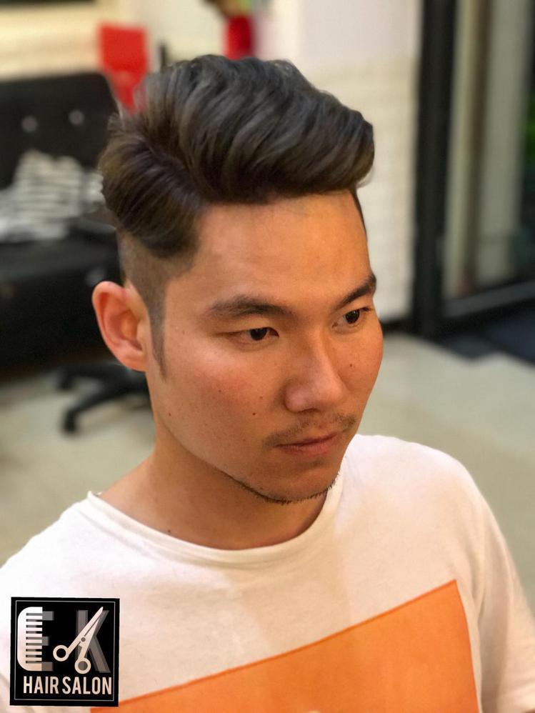 髮型創作/E.K hair salon - AK。圖/HairMap美髮地圖提...
