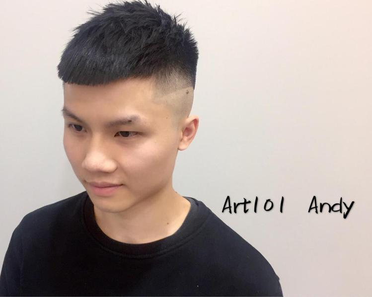 髮型創作/ART 101 Hair Salon立達店 - Andy 。圖/Hai...