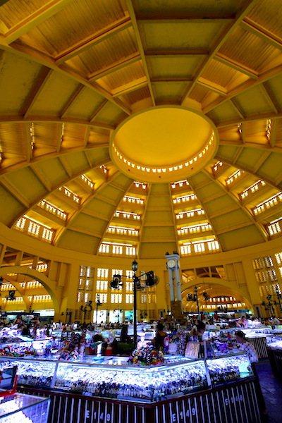 中央市場內部。 攝影/賴勳毅