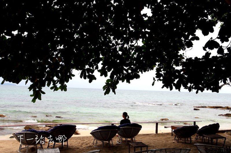 西哈努克海灘。 攝影/賴勳毅