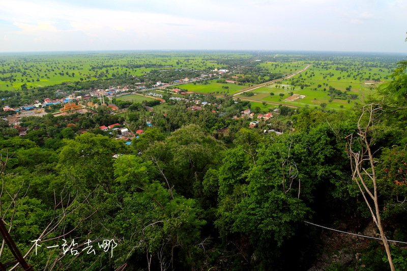 森寶山遠眺市景。 攝影/賴勳毅