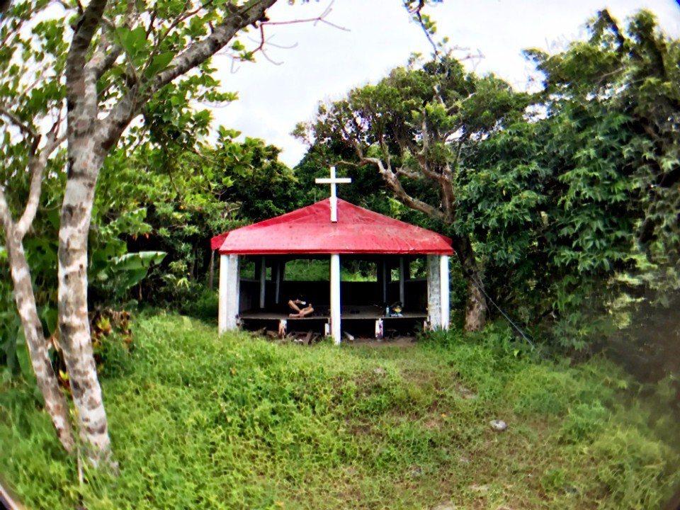朗島禱告庭。(林郁姍/攝)