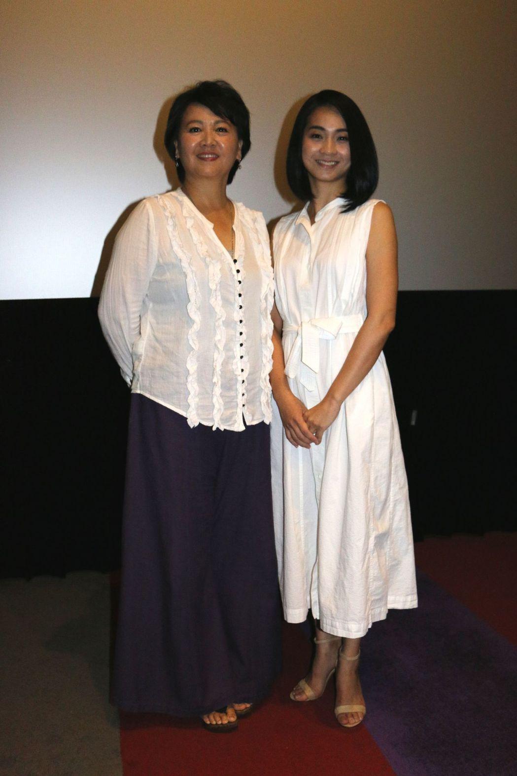 王琄(左)和陳雪甄同台飆戲。 圖/中天提供