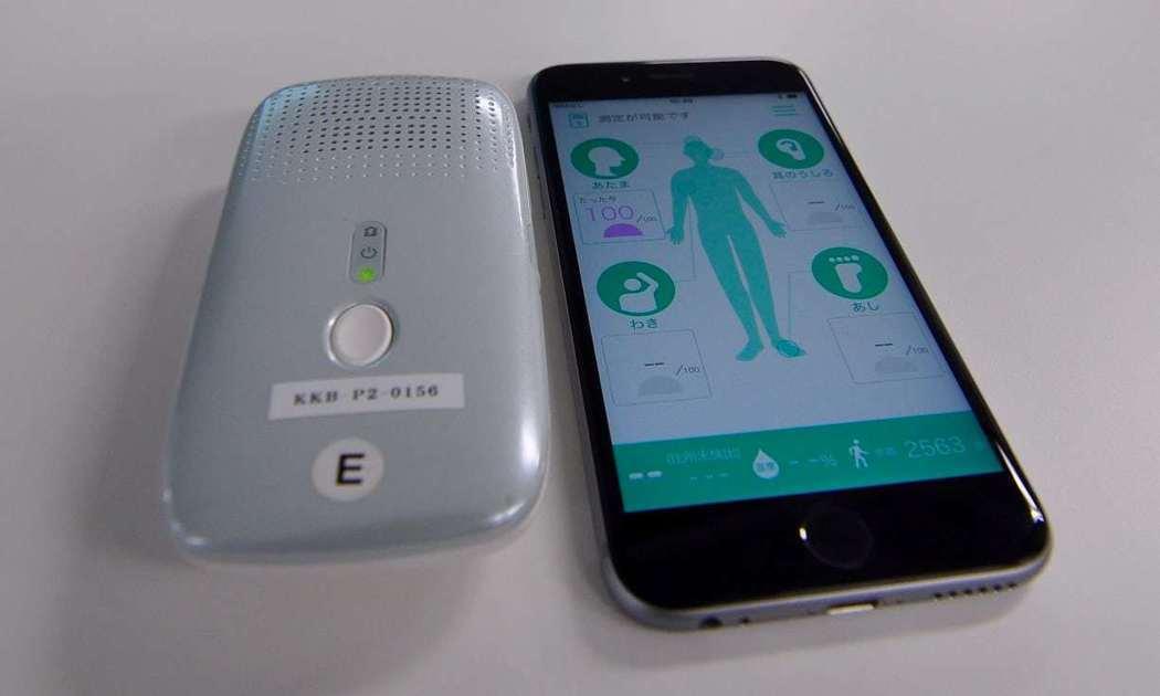 日本柯尼卡美能達公司將推出造型像錄音機的體味偵測器,透過藍芽與智慧手機的應用程式...