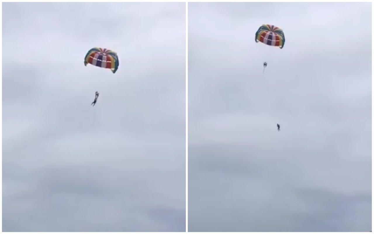 但在升空不久後赫西已搖擺不穩,之後竟墜下死亡。(取材自YouTube)