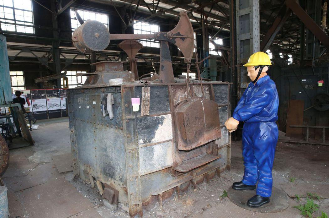 鍛冶工場。 記者林俊良/攝影