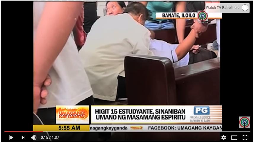 疑似惹到「好兄弟」,菲律賓多所學校發生學生集體中邪事件,校方立即請神父前來驅魔。...