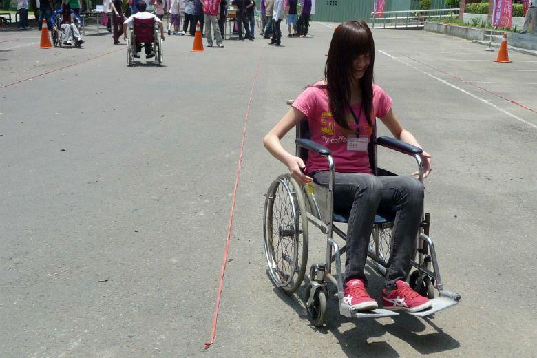 「坐上輪椅感覺貢獻變少」的觀點,讓障礙身份被貼上標籤、被弱化。 圖/聯合報系資料...
