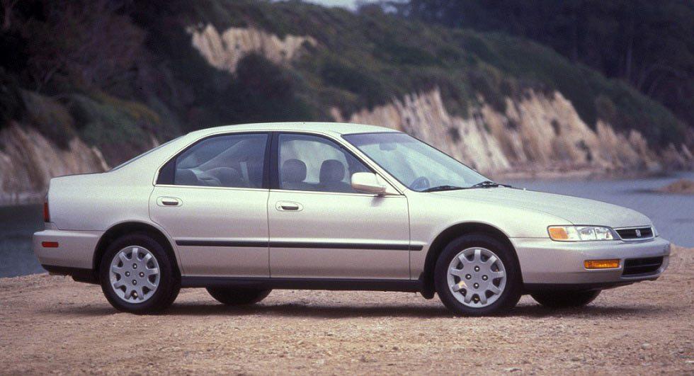 1997年出廠的Honda Accord被偷了7,527台。 摘自Carscoops
