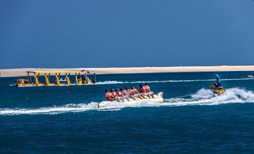 各項精彩刺激的水上活動,是來澎湖絕不能錯過的有趣體驗。(欣傳媒資料照)