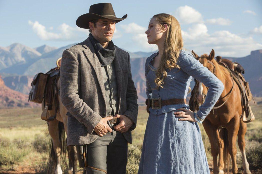 「西方極樂園」是本屆艾美獎入圍名單最大贏家,伊雯瑞秋伍德(右)提名最佳戲劇影集女