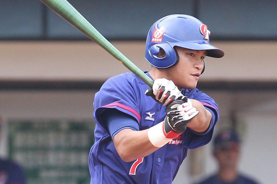 中信兄弟隊選秀首輪指名的內野手岳東華。圖/中信兄弟提供