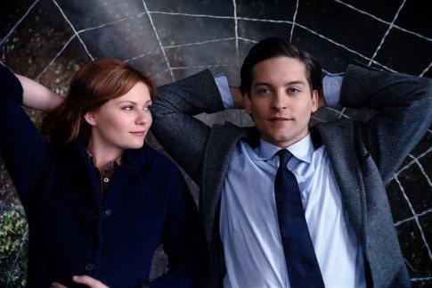 克絲汀鄧斯特曾與陶比麥奎爾傳緋聞。圖/摘自IMDb