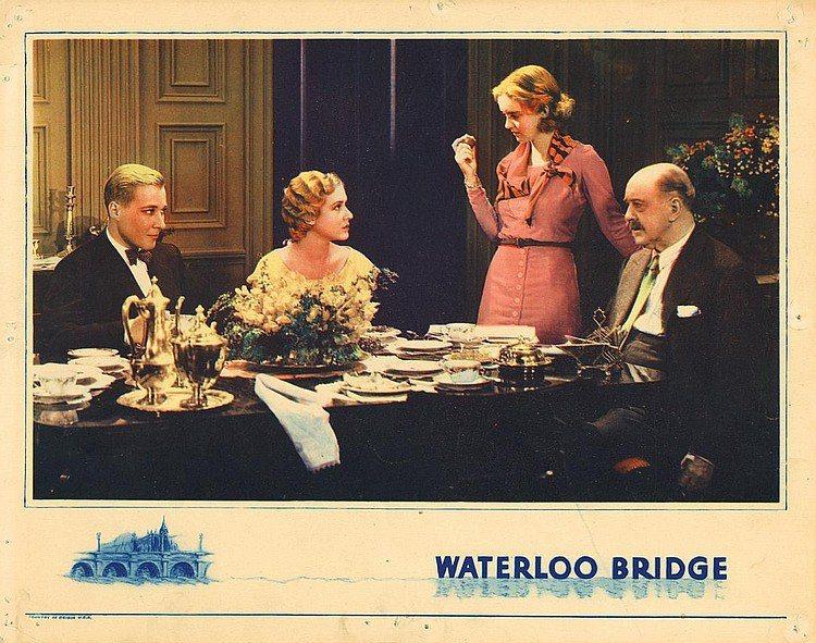 傳奇影后蓓蒂戴維絲(右二)在「斷橋殘夢」中只是小配角。圖/摘自imdb